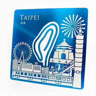 Taiwan card clip │ Taipei │ a total of 4 colors