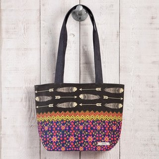 BOHO printing canvas tote bag BAG197