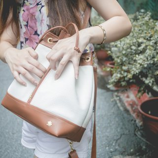 CLM classic bucket bag _ milk sugar