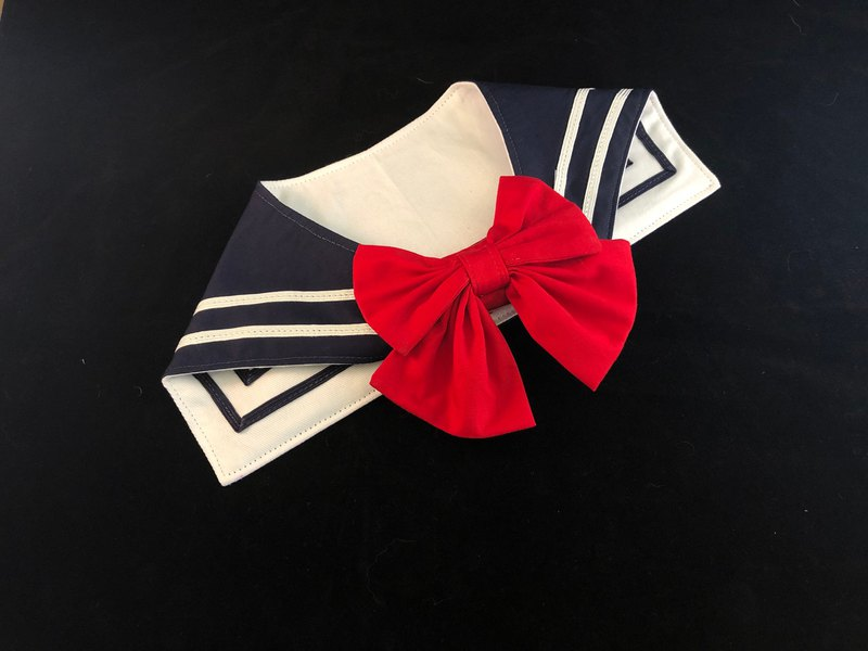 Sailor collar for dogs
