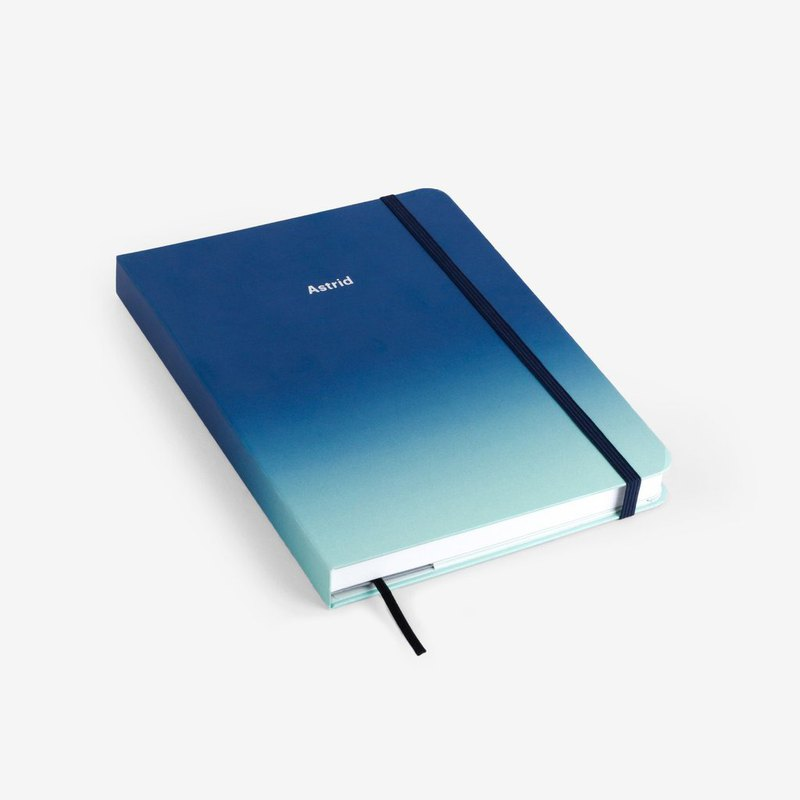 Aurora Personalized Threadbound Notebook