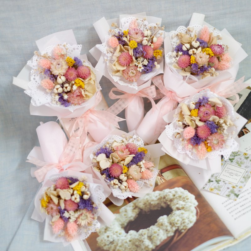 Customized exclusive order - colorful cute bouquet *6 bouquet ceremony For dear clrissa