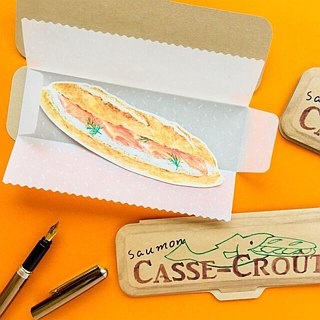 Greeting card/Casse-croute