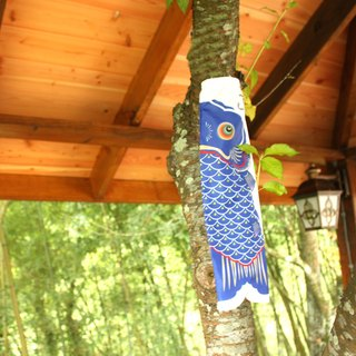 Japanese Carp Streamer 30 CM (BLUE)