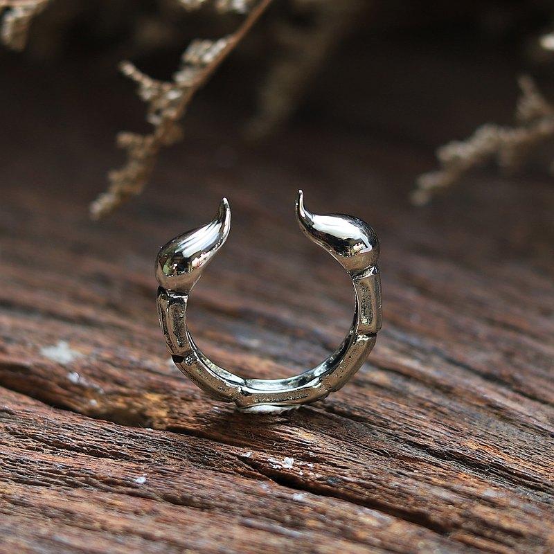 蝎子尾巴拇指戒指男女通用纯银十二生肖动物