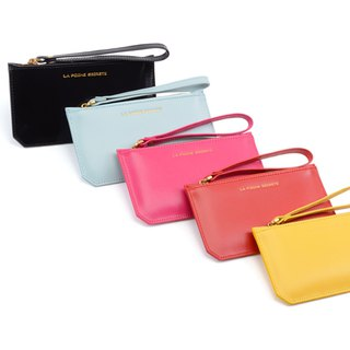 La Poche Secrete Christmas Gifts: Bright leather small long bag _ Mingyuehuang