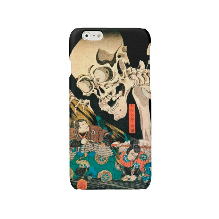 iPhone case Samsung Galaxy case phone hard case skull japanes art 3121