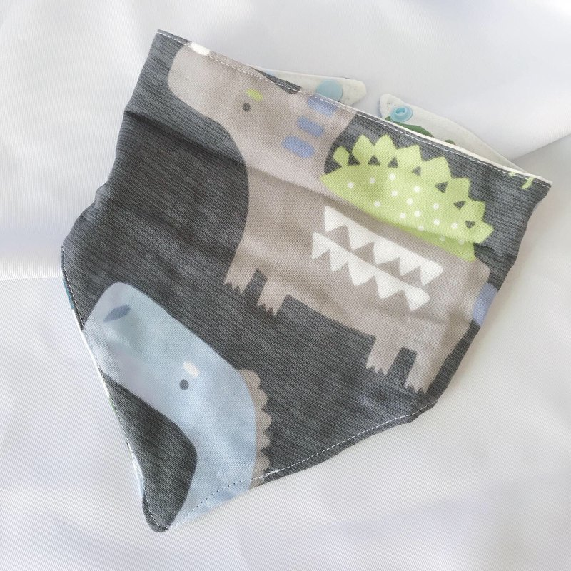 Grey Big Dinosaur / Grey Green Bear Triangle
