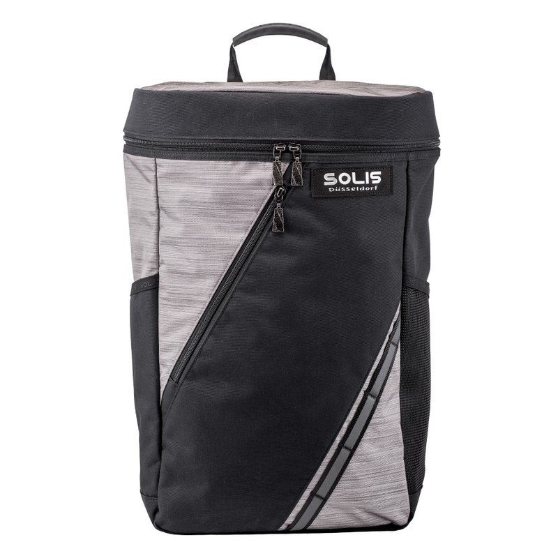 "SOLIS Silver Dazzle Series 15"" laptop/10"" Tablet backpack(black)"