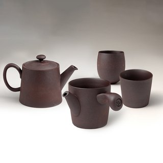 Fujin Tang│Ore Mine Original Tea Set (1 Kettle, 1 Sea, 2 Cups)
