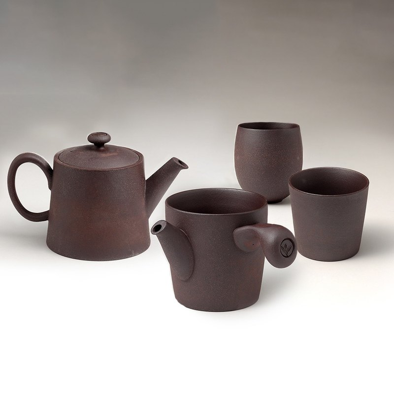 不二堂│Rock Mine Original Tea Set (1 pot, 1 sea, 2 cups)