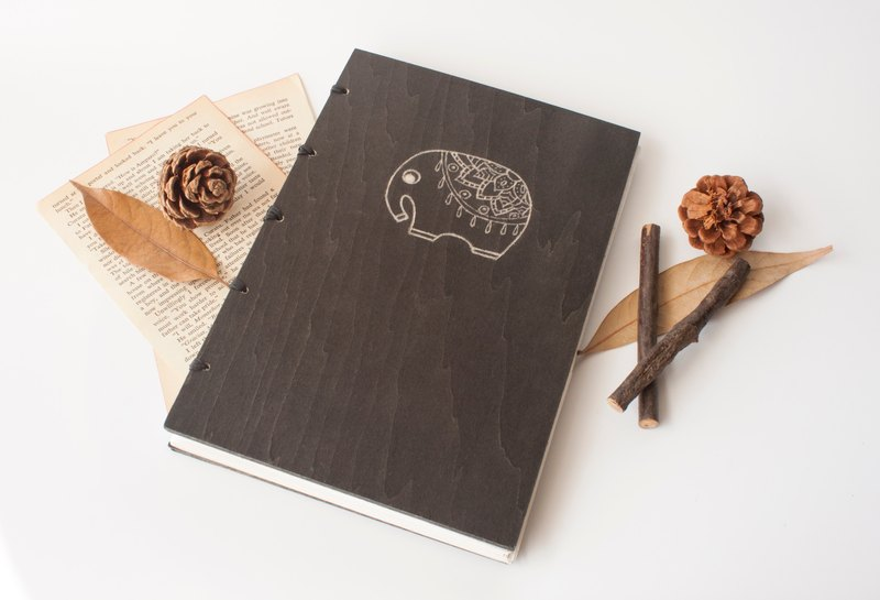 The Elephant Handmade Notebook