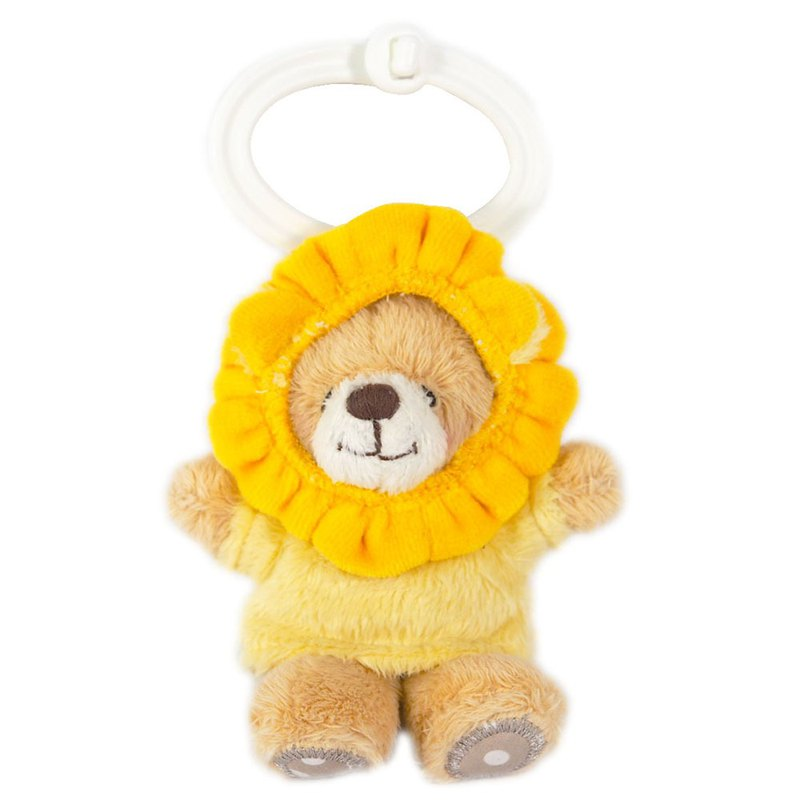 3.5吋/Lion Bear Key Ring [Hallmark-ForeverFriends Fluffy-Key Ring Series]