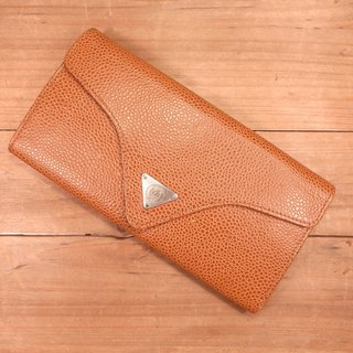Old bones Renoma leather tri-fold long clip Vintage