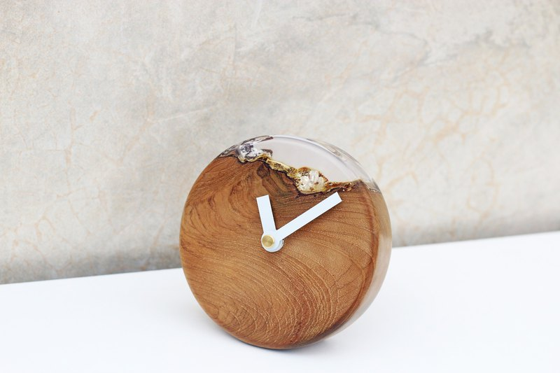 Live edge time - Wall clock // Our signature product!