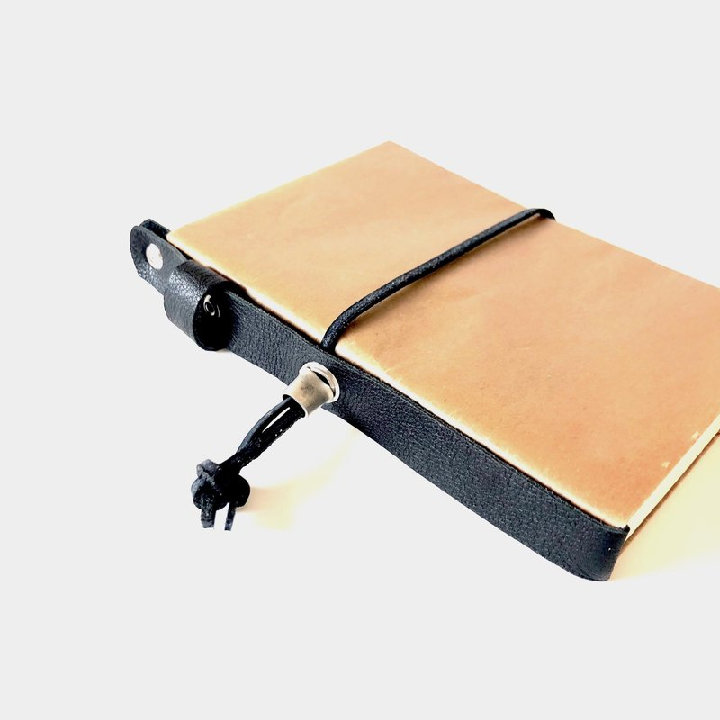 Wax paper ➕ Genuine leather book book size cover