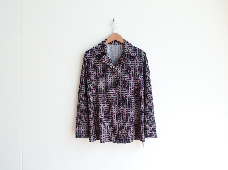 Vintage / shirt / long sleeve no.92 tk