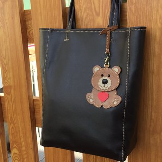 Bag Leather Charm – Sweetheart Bear