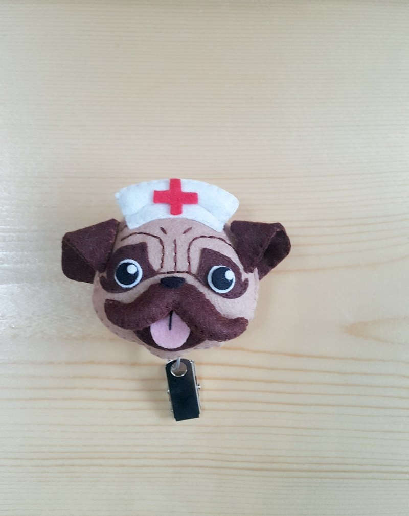 Mini bear hand made small nurse popo telescopic pull ring card sets need to be purchased separately