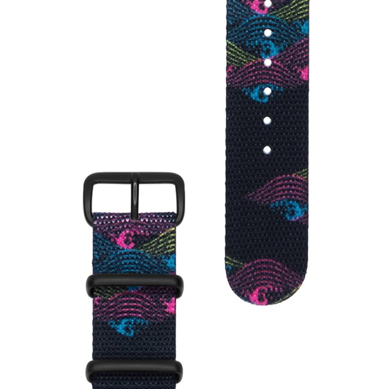 HYPERGRAND Military Strap - 20mm - Oasis Fluorescent Oasis (Black Buckle)