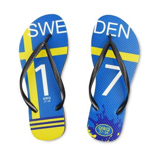 QWQ creative design flip-flops - Sweden - female models [limited models]