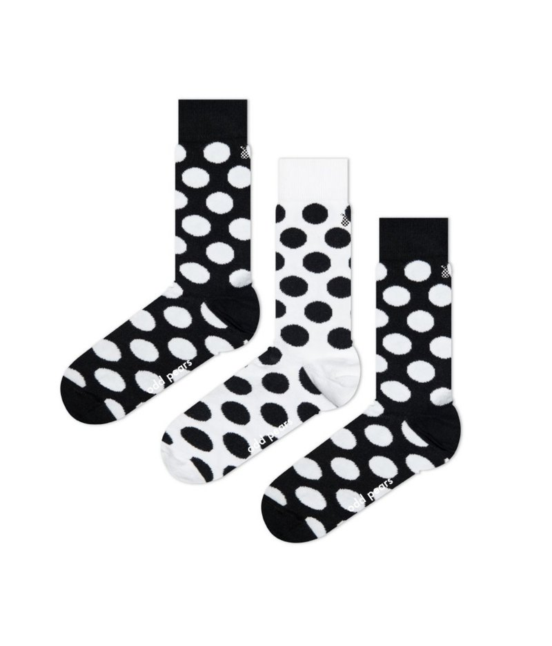 Odd Pears Australia strange pear three feet socks DALMIN black and white wave socks one pair of three