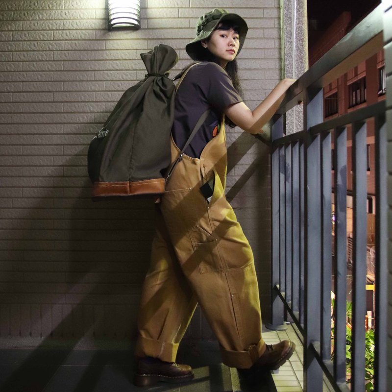 Tsubasa.Y ancient house Swiss military duffel bag, rear backpack military bag bundle pocket mountaineering bag