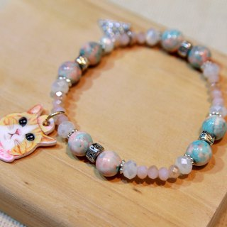 Pet Pendant Customized Bracelet - Pink