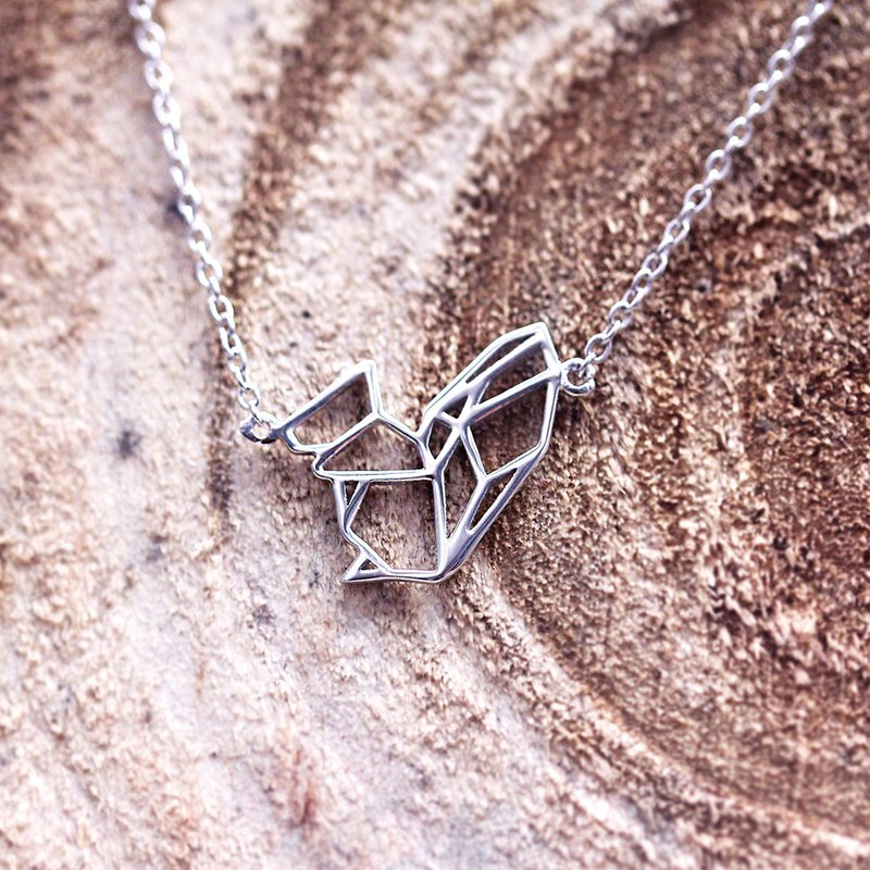 Sweet Squirrel 925 Sterling Silver Necklace