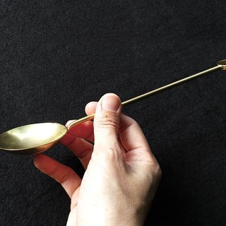 Scoop a spoon of early morning incense - No. 6 copper universal spoon / Ag No. 038