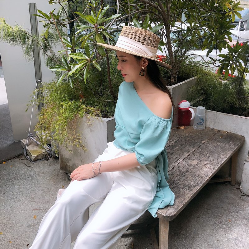 NORA TOP / Mint