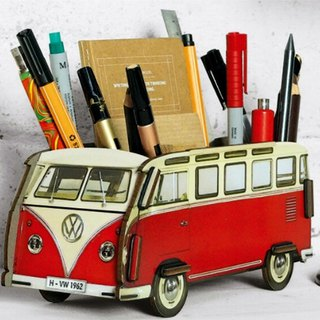 Germany Werkhaus Foss VW T1 bus pen holder [a total of four colors]