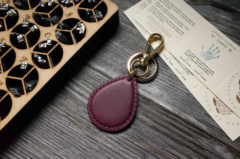 Buttero Easy Card Chip Charm - Water Drop Style - Purple