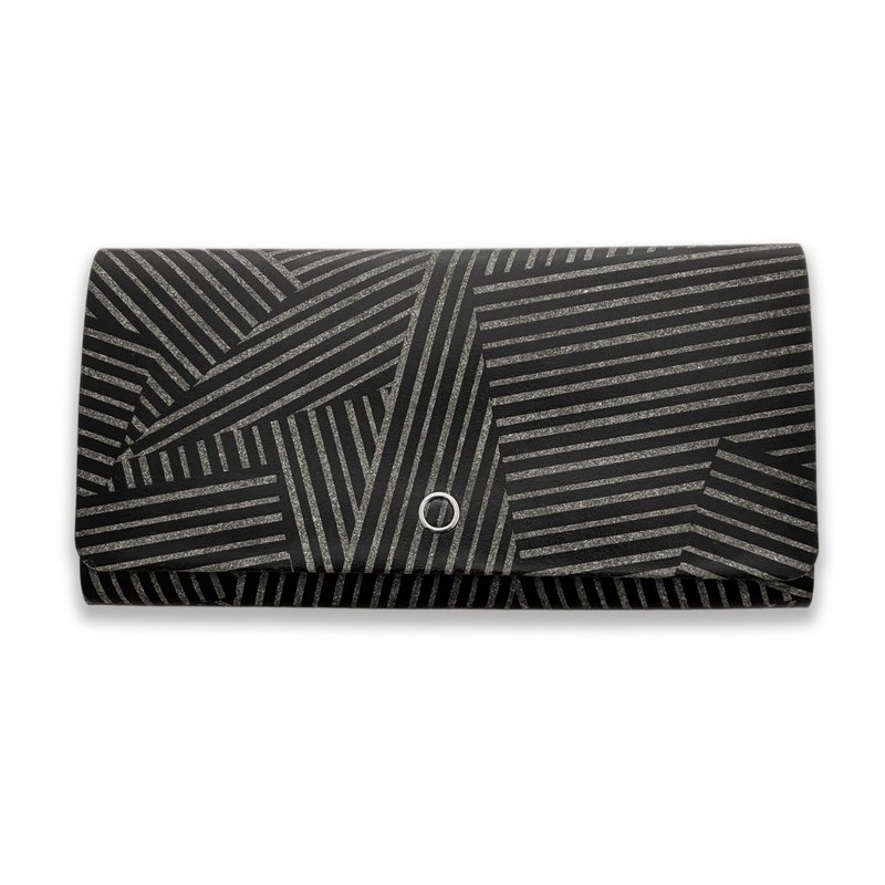Arden camouflage black Japanese design brand joint style thin long clip-the strongest storage wallet