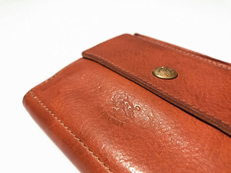 IL BISONTE / Two-Fold Wallet / Cow Leather / Japanese / Italian