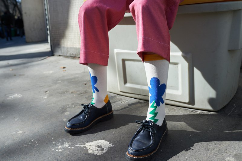 LIFEBEAT x MAO.MAO STUDIO Crew Socks