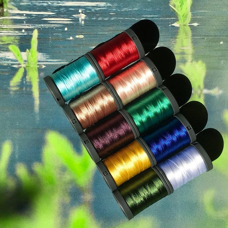 Embroidery Thread_The Cabin by the Lake_300m*10 colors