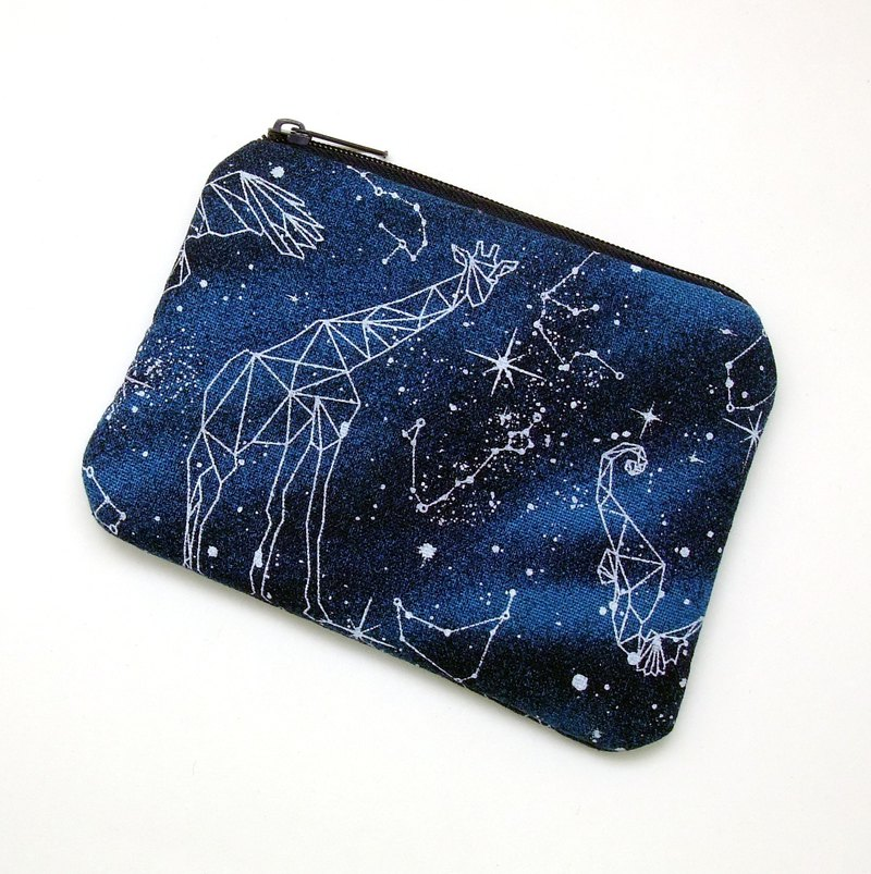 Zipper pouch / coin purse (padded) (ZS-247)
