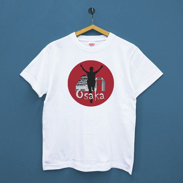 Osaka-Japan United Athle Cotton Neutral T-Shirt