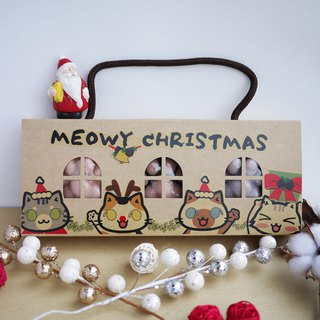 Xmas 3 in 1 Cat Paw Soap Gift Box | With a Free Xmas Card