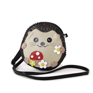 Hedgehog baby childlike shape oblique back animal bag spot for sale - Cool Le Village