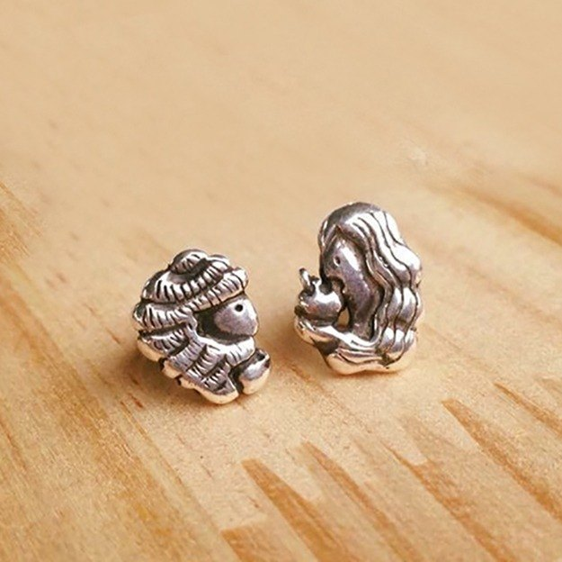 Adam and Eve Earrings