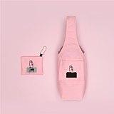 YCCT 環保飲料提袋包覆款-摩艾小魔女-專利收納不怕忘了帶