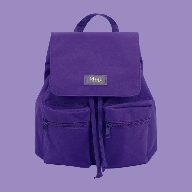 Waterproof purple nylon ultra light backpack backpack computer bag travel bag