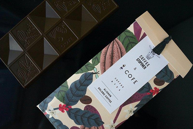 【COFE 茶咖啡巧克力】 Stopover 聯名_阿里山茶咖啡