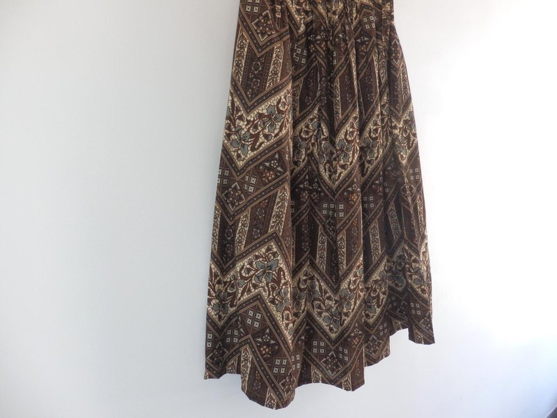 [Fall New] Batik skirt No, 4