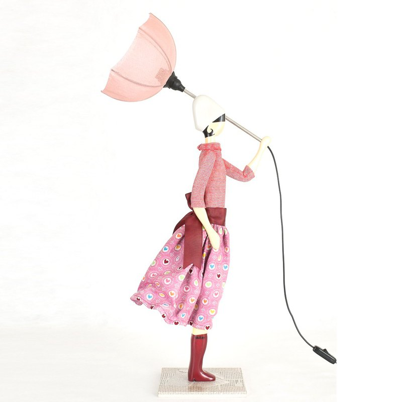 Wind Little Girl Fashionable Lamp Patty Order Production Handmade