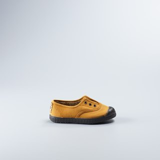 Spanish national canvas shoes autumn and winter series CIENTA 955777 43 yellow children's shoes size