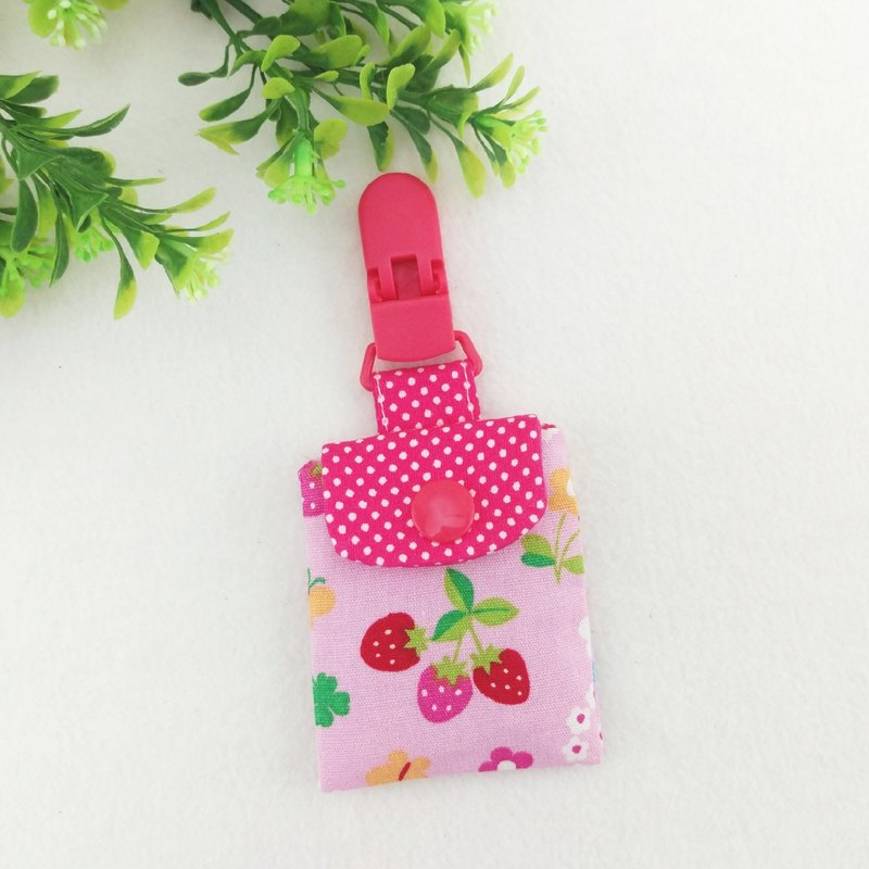 Strawberry sweetheart. Ping Fu bag (can increase 40 embroidered name)
