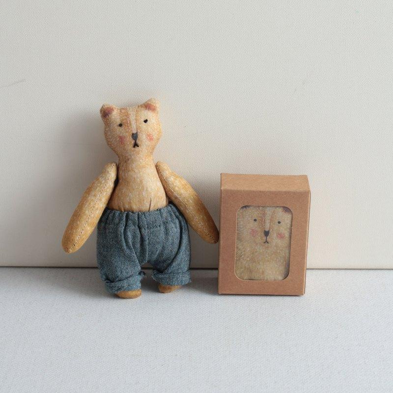 熊玩偶手作材料包-小小熊